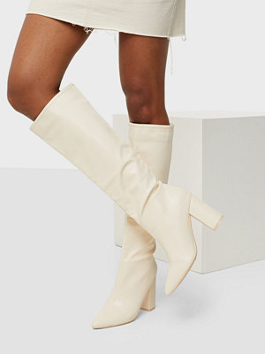 NLY Shoes Wide Knee High Boot