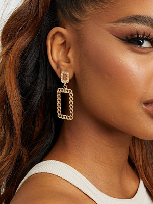 NLY Accessories smycke Golden Chain Earrings