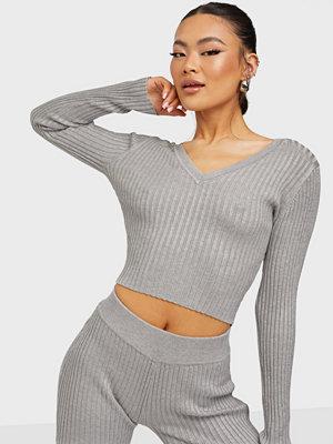 Glamorous Rib Loungewear Top