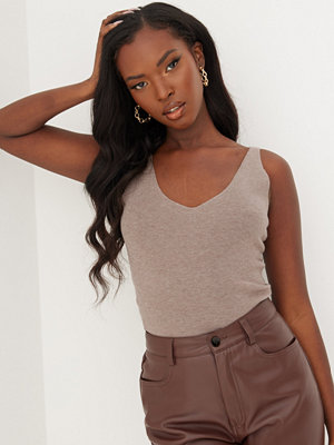 Missguided High Neck Overlayer Top