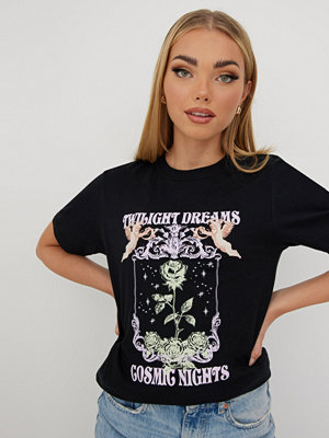 Missguided TWIGHLIGHT DREAMS GRAPHIC TEE