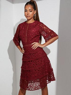 True Decadence Short Sleeve Lace Dress