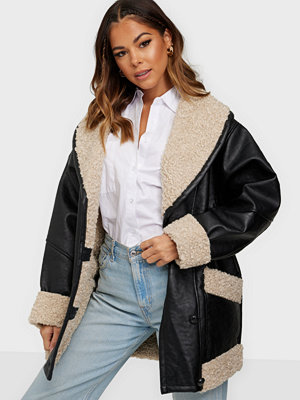 Glamorous Fake Fur Coat