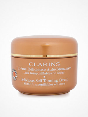 Solning - Clarins Delicious Self-Tanning Cream 125 ml Golden Glow