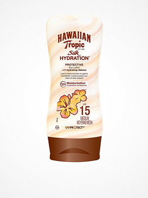 Solning - Hawaiian Tropic Silk Hydration Protective Sun Lotion SPF 15 180 ml