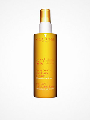 Solning - Clarins Sun Care Milk-Lotion Spray Spf 50+ 150 ml Vit