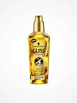 Hårprodukter - Schwarzkopf Gliss Hair Repair Daily Oil Elixir 75 ml Transparent