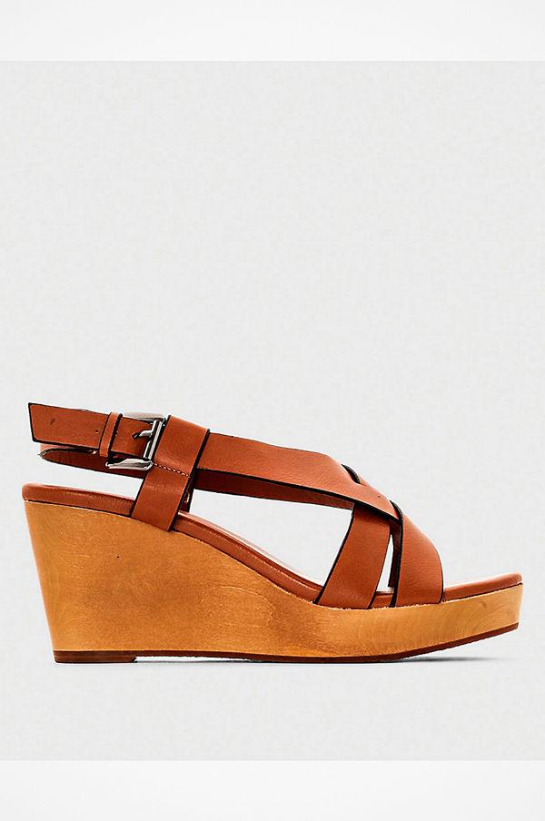 La Redoute Sandaletter med kilklack - Sandaler   sandaletter online ... 04ecafceee6a7