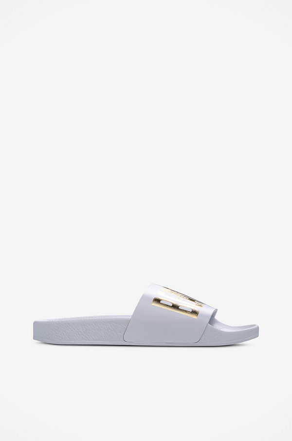 The White Brand Slippers Beach White