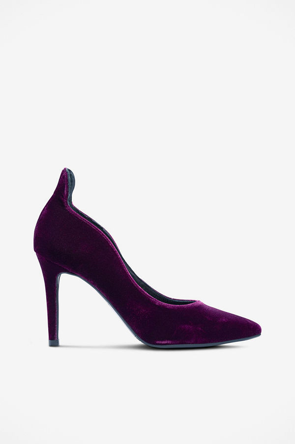 Billi Bi Sammetspumps i elegant modell