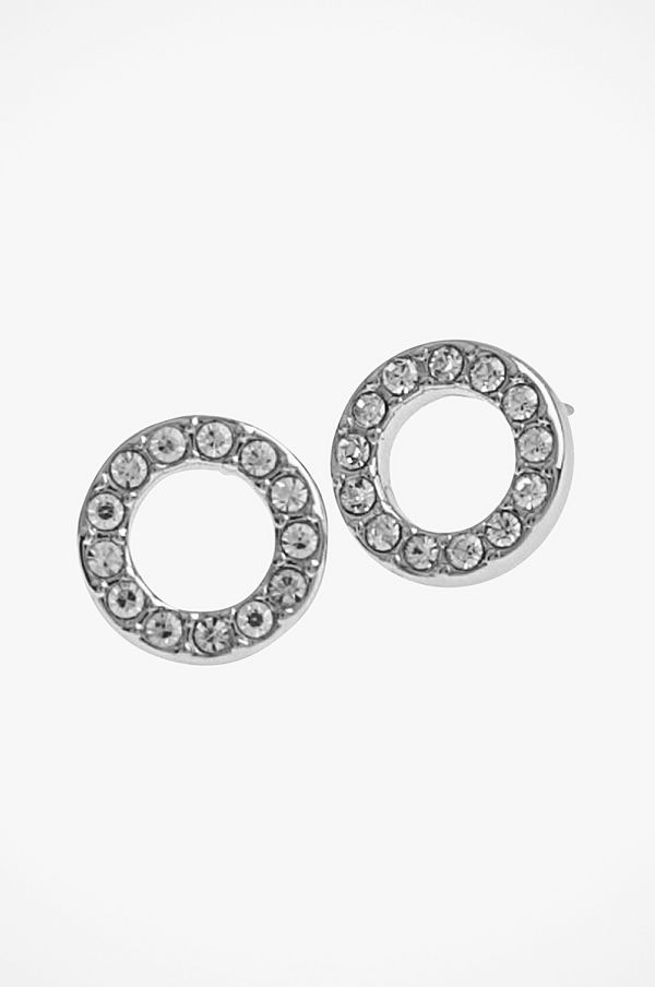 SNÖ of Sweden smycke Örhänge Spark Small Coin Ring