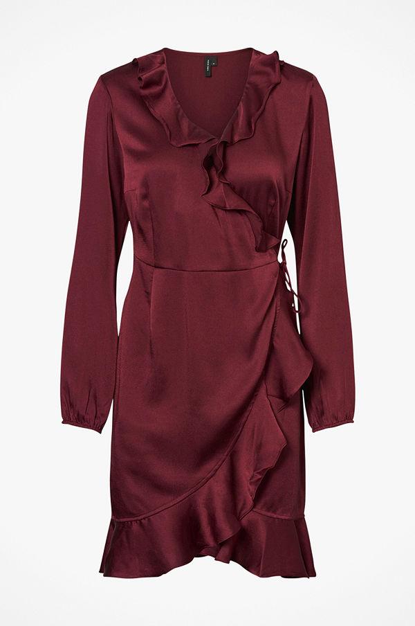 Vero Moda Klänning vmHenna Shine Wrap L/S Short Dress
