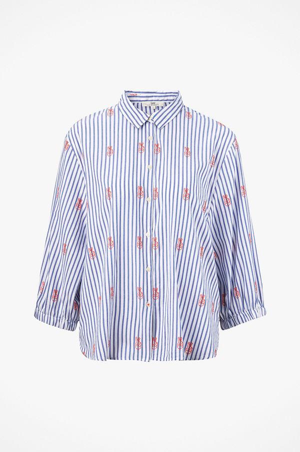 Lee Skjorta Shirt Bell Sleeve