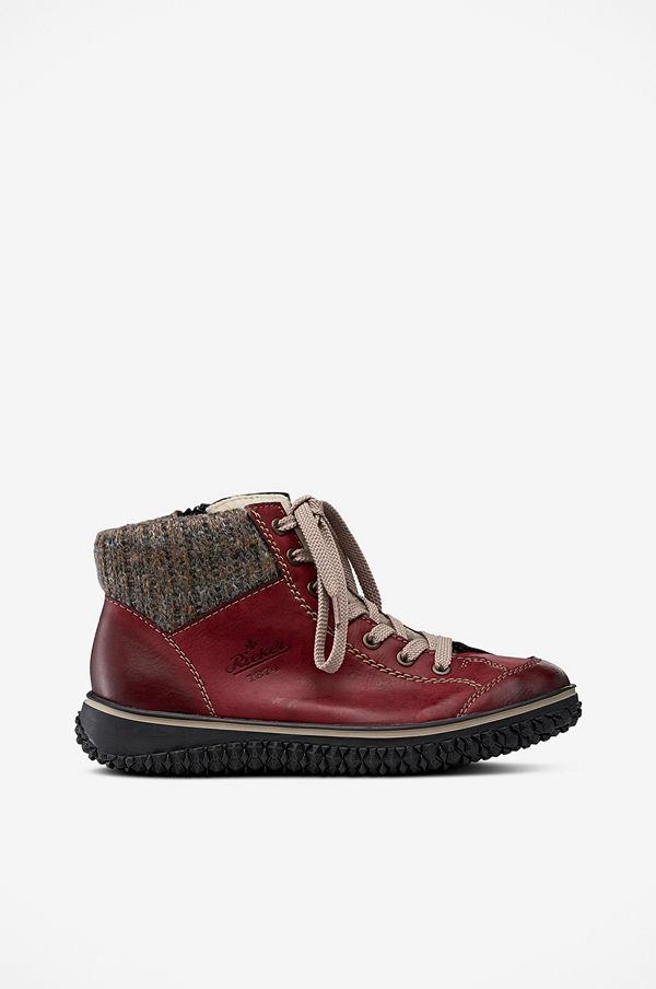 Rieker Boots med stickad krage