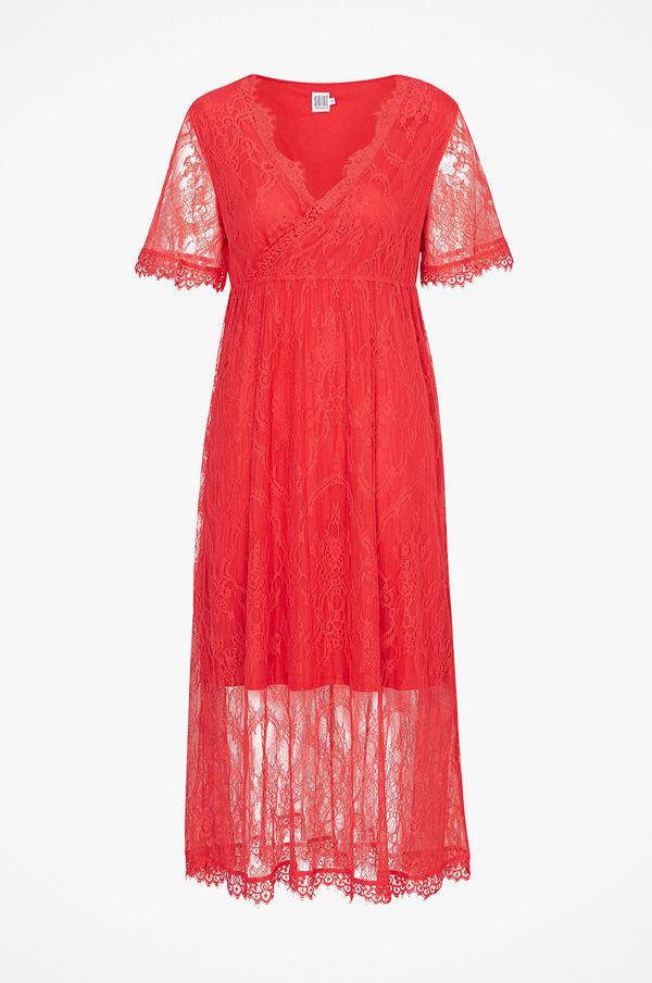 Saint Tropez Maxiklänning Lace Dress Short Sleeve