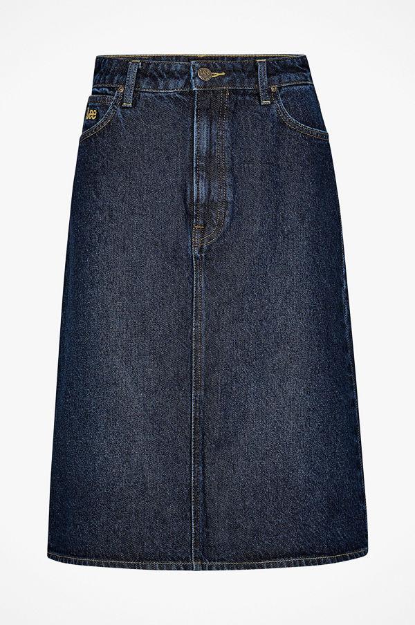Lee Jeanskjol Long A Line Skirt