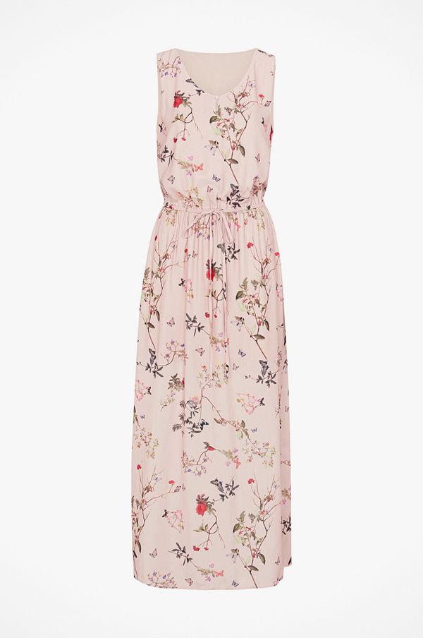 Only Maxiklänning onlButterfly Carla S/L Long Dress