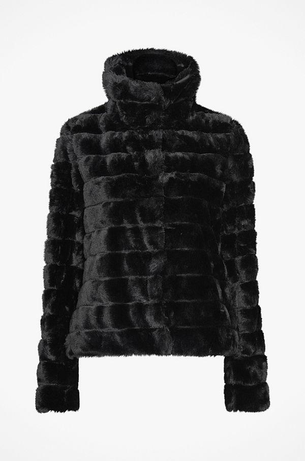 Vila Fuskpäls viFarry Short Jacket