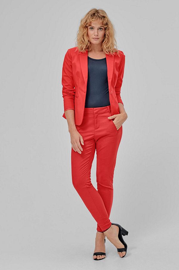 Vero Moda Byxor vmVictoria MR Antifit Ankle Pants röda - Byxor ... efbeed5da5853