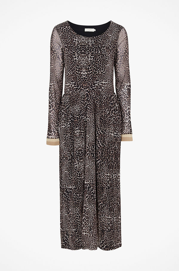 Cream Klänning Lauren Dress, leopardmönstrad