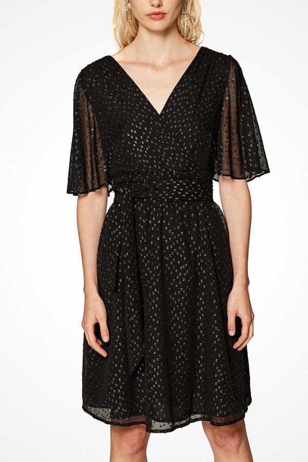 Esprit Klänning Metallic Butter Dress