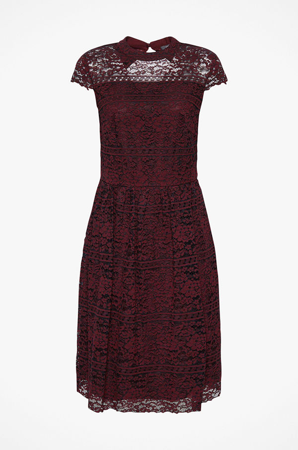 Esprit Spetsklänning Stripe Stella Dress