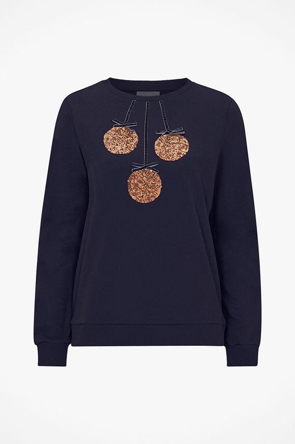 Saint Tropez Sweatshirt med paljetter