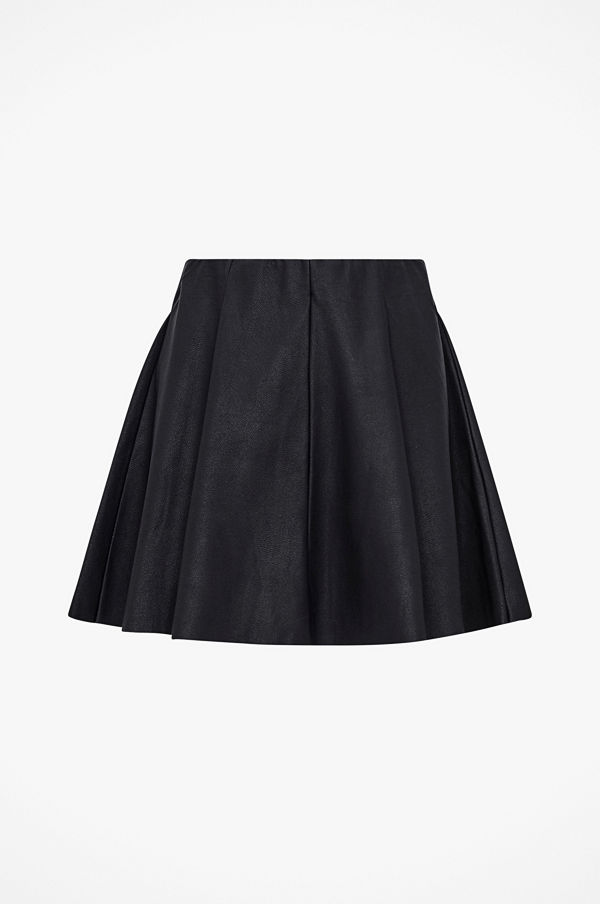 Only Kjol onlBase Neoline Faux Leather Skirt