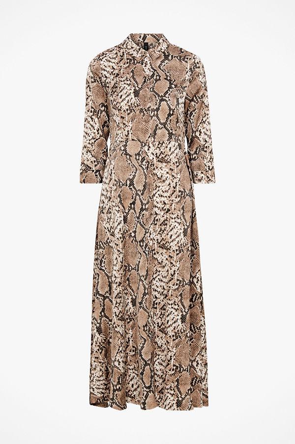Y.a.s Maxiklänning Sanima Long Shirt Dress