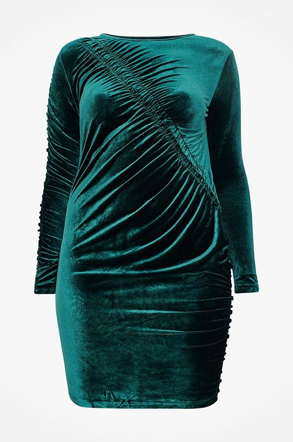 Only Carmakoma Sammetsklänning carDelta LS Bodycon Dress