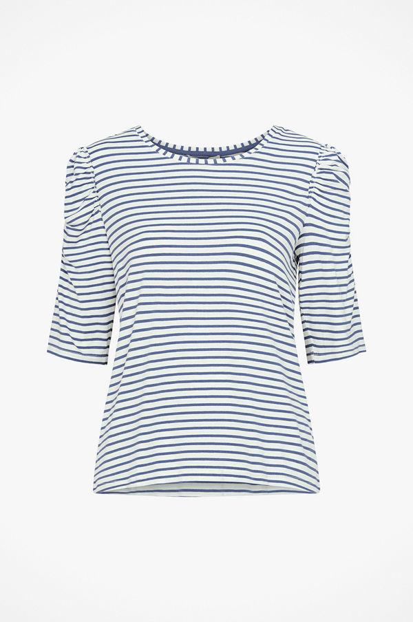 Cream Topp Lila Tshirt