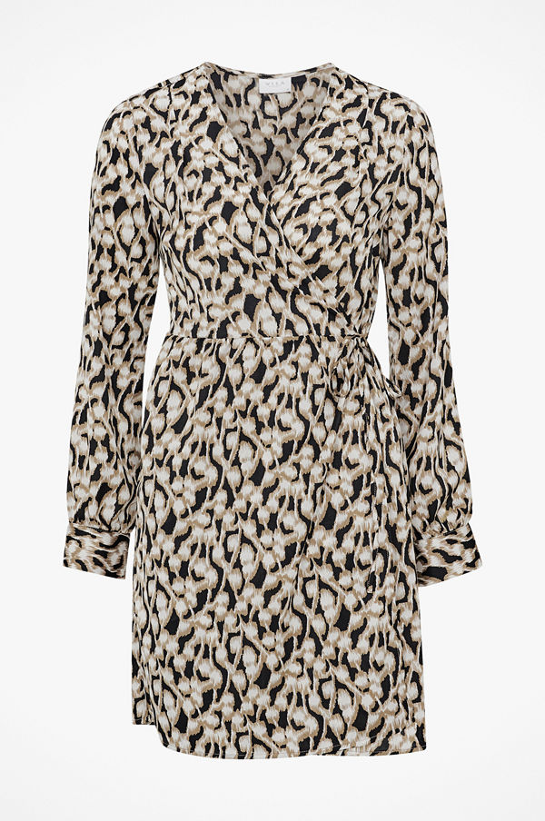 Vila Omlottklänning viSalpa L/S Wrap Dress