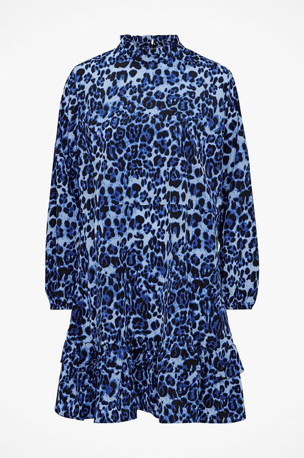 Ellos Volangklänning Ida, leopardmönstrad