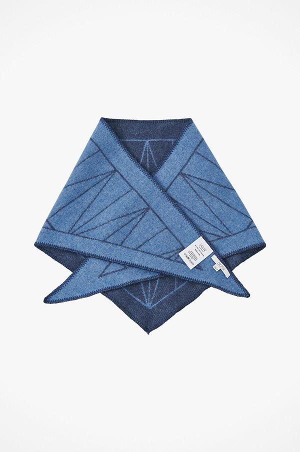 Dagmar Scarf Wool Grid