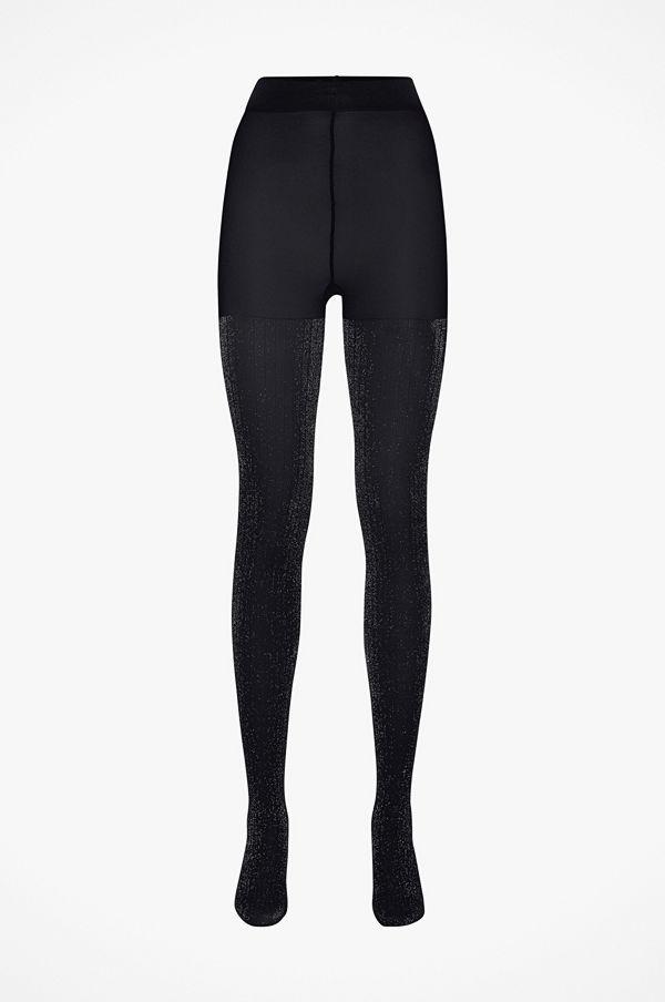 Swedish Stockings Strumpbyxor Lisa Lurex Rib Tights
