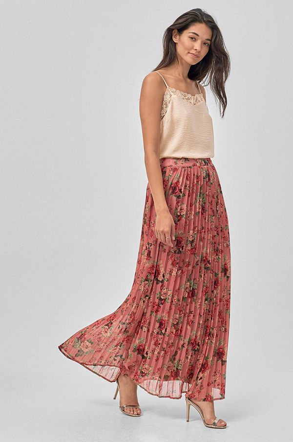Vila Maxikjol viMitty Maxi Skirt