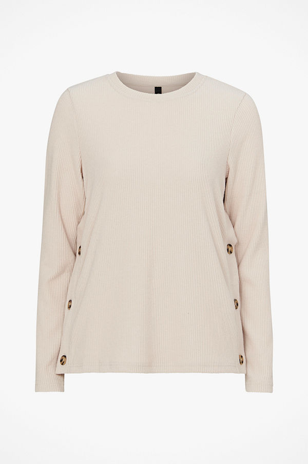 Y.a.s Tröja yasFloss Button Top