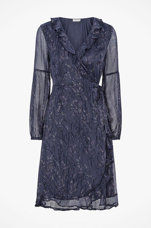 Cream Omlottklänning Ana Dress