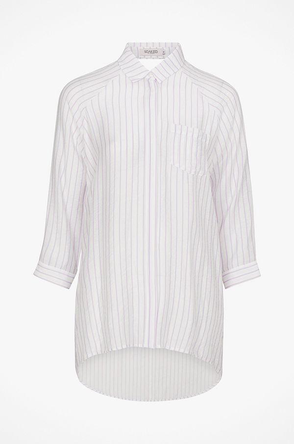 Soaked in Luxury Skjorta SL Althea Shirt 3/4