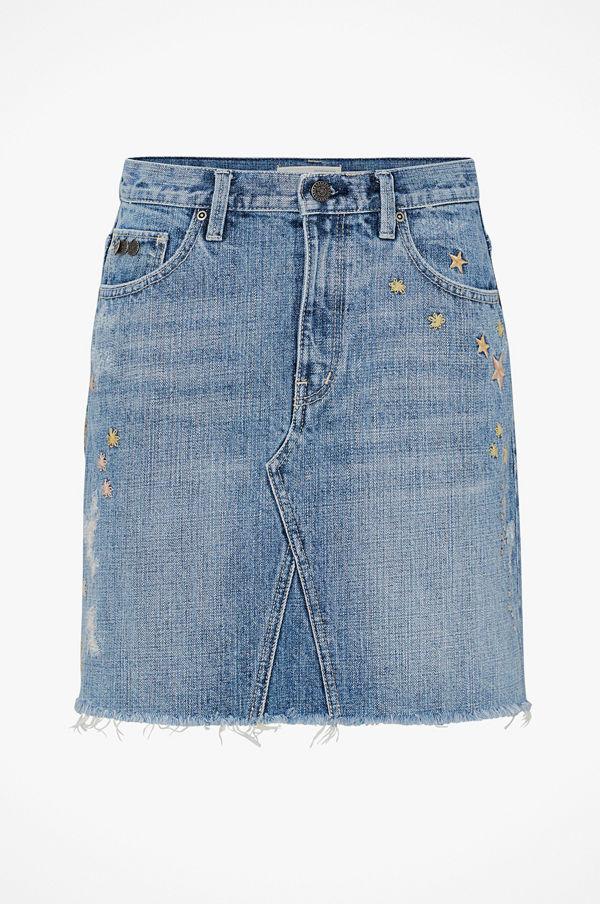 Odd Molly Jeanskjol Hot Cuts Skirt