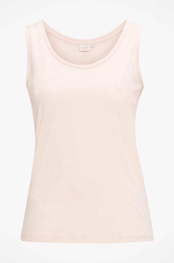 Cream Linne Naia O-neck Tank Top