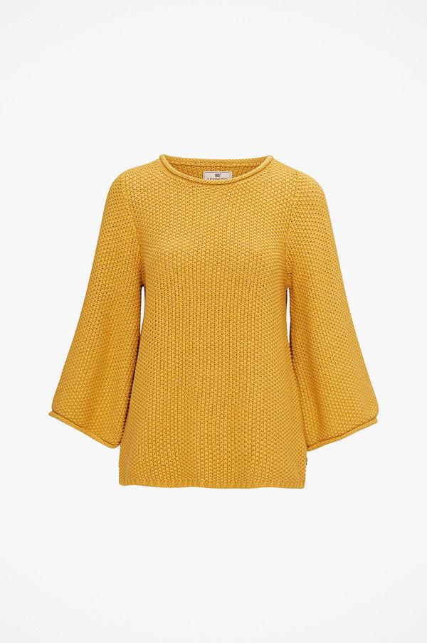Lexington Tröja Kayla Cotton Linen Sweater