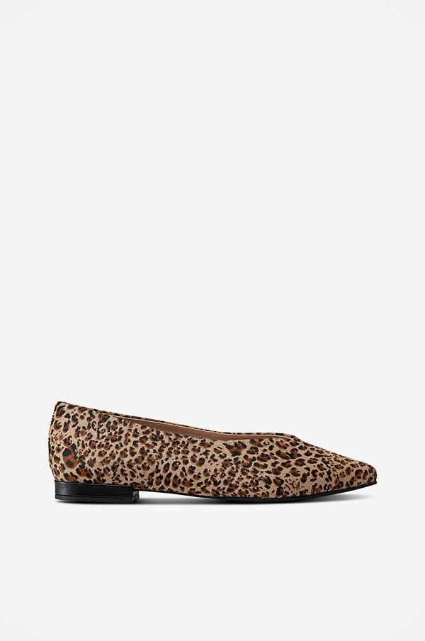 Shoebiz Ballerina Hibiskus Leopard