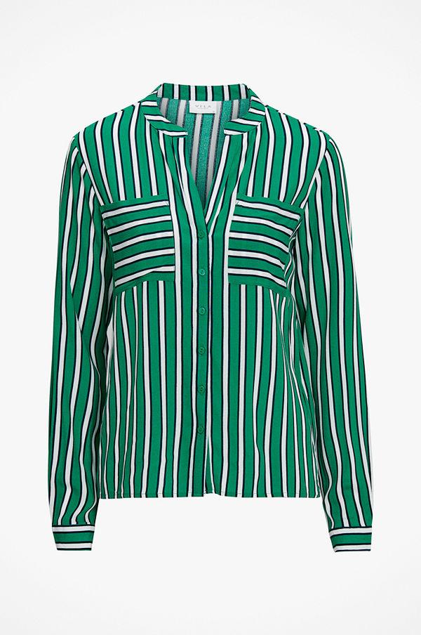 Vila Blus viLinetta stripe L/S Shirt