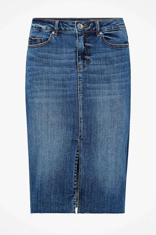 Vero Moda Jeanskjol vmJasmin MR Slim Pencil Skirt