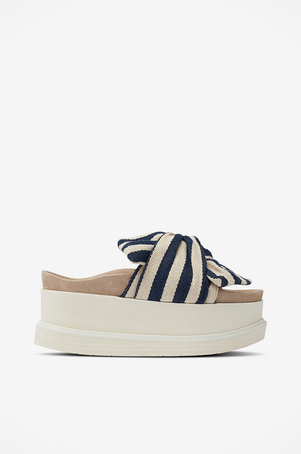 INUIKII Sandal Slippers Knot Striped