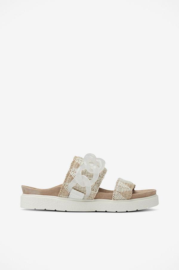 INUIKII Sandal Slipper Chain Raffia