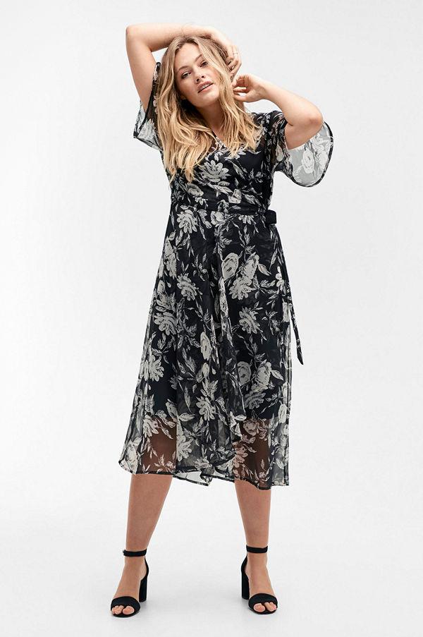 a4d54c524c42 Mode för kvinnor Kläder Klänningar Festklänningar. Ellos Klänning i omlott