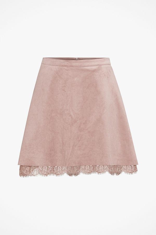 Only Kjol onlCaitlyn Faux Suede Skirt