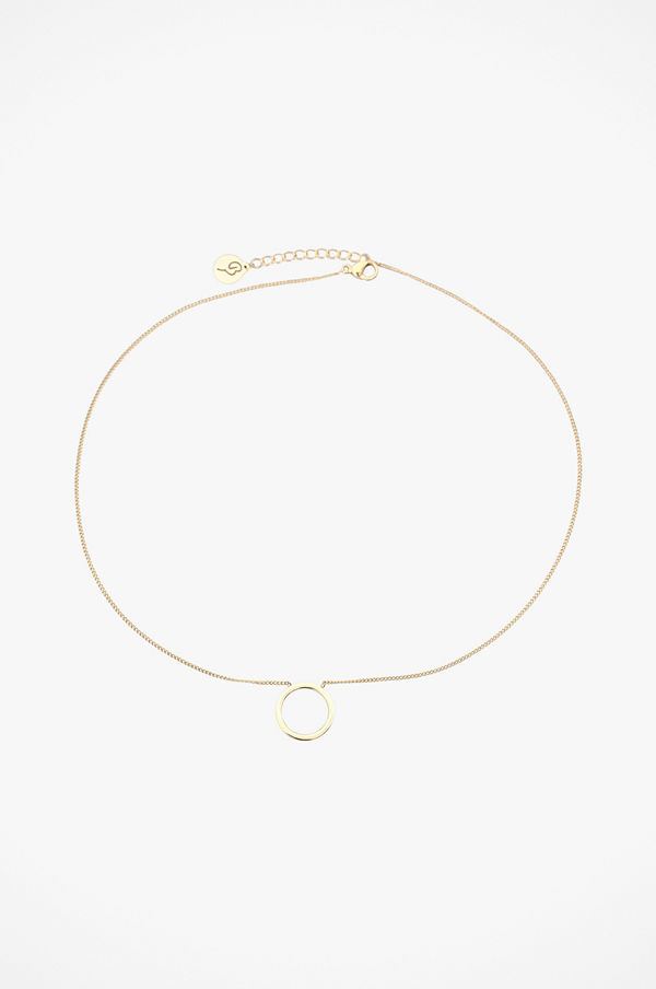 Edblad smycke Halsband Circle Necklace Small Gold